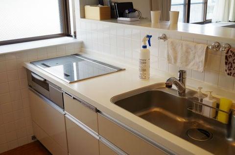 オリジナル キッチンの掃除 シンク コンロ
