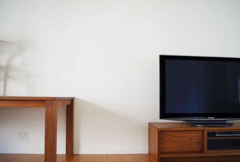 オリジナル リビングの壁 テレビ