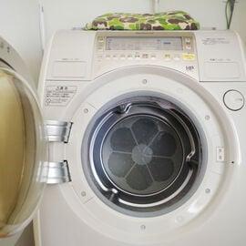 オリジナル 洗濯機 洗面所