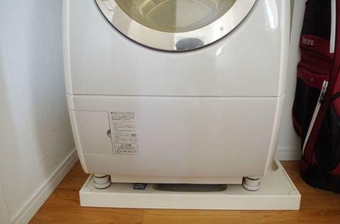 オリジナル 洗濯機パン 洗面所