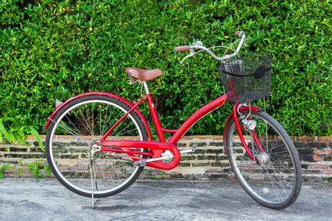 自転車の手入れ