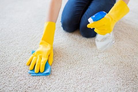 掃除 洗剤 ゴム手袋