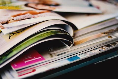 雑誌 本 写真