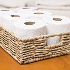 トイレの収納 トイレットペーパー