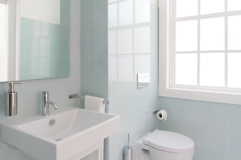 トイレの収納 洗面所