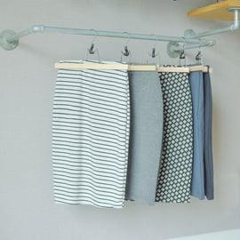 スカートの収納法
