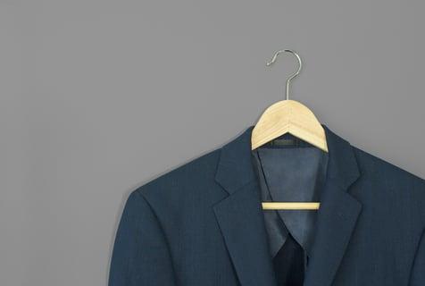 スーツ ジャケット ハンガー 服