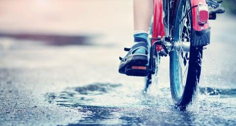 自転車のサビ予防