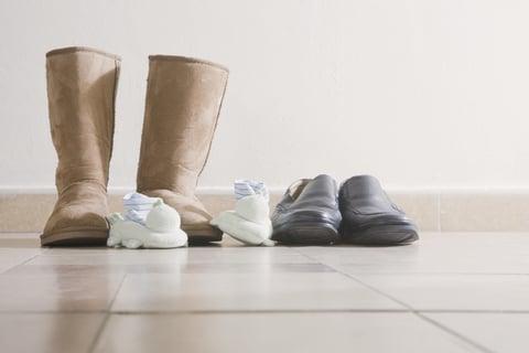 ブーツの整理 靴