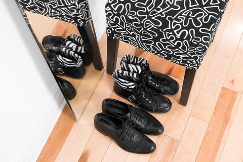 玄関 スツール 革靴 ブーツ