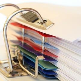 書類やプリントの整理・収納術!100均グッズを使ったアイデアは?