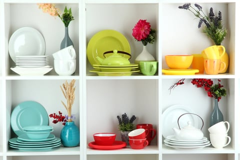 棚 ラック 食器 植物 皿