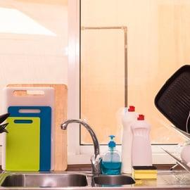 キッチンにあるまな板