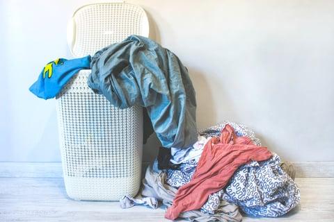 洗濯物 洗面所 カゴ