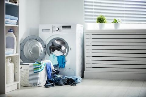ランドリースペース 洗濯物