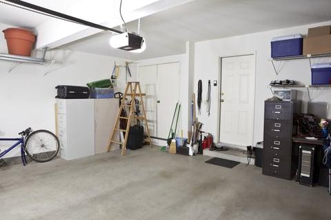 ガレージ 駐車場 物置