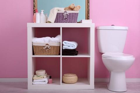 整理されたトイレ