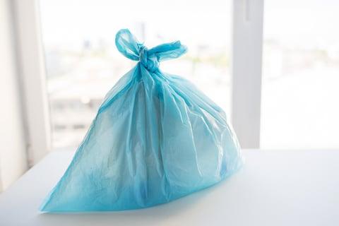 縛ったゴミ袋 処分 捨てる