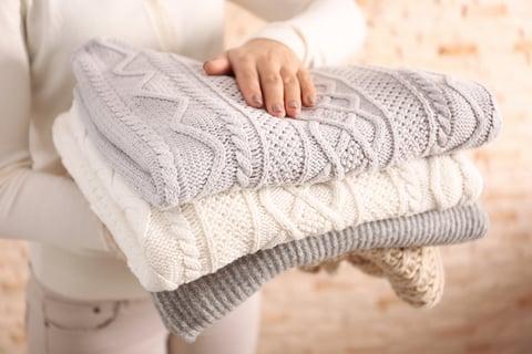 セーター 服 たたむ 乾燥 洗濯