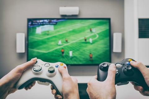 テレビ リビング ゲーム