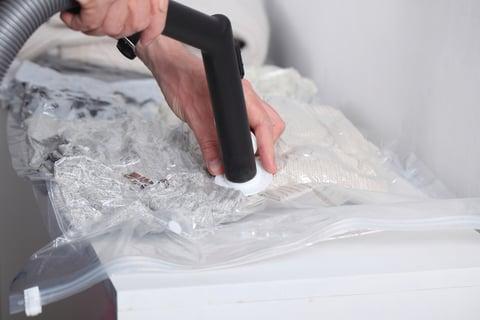 圧縮袋 掃除機 洋服