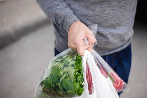 レジ袋 野菜