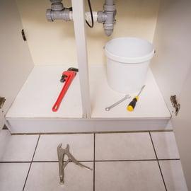 排水管 戸棚 工具 キッチン