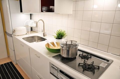 キッチン コンロ 鍋 引き出し