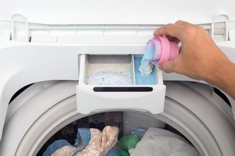 洗濯機 洗剤投入口