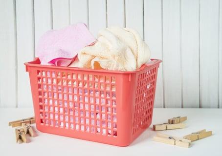 洗濯物 バスケット 洗濯バサミ