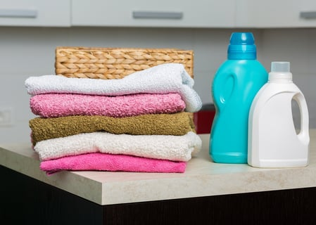 洗濯 タオル 洗剤 バスケット
