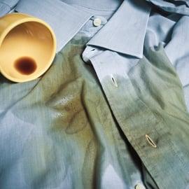 シャツ コーヒー シミ 洗濯