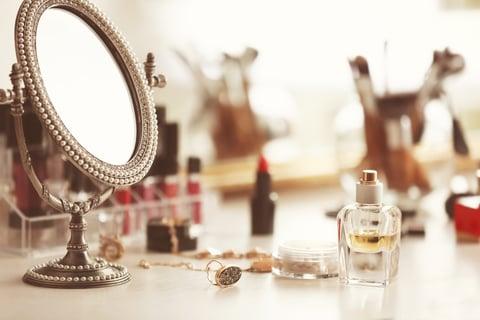 化粧台 コスメ メイク 鏡