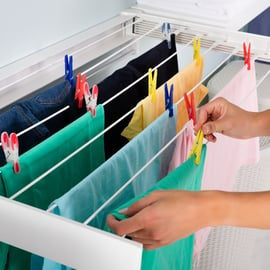 部屋干し 洗濯