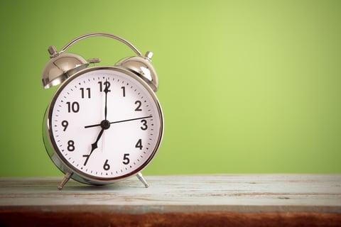待つ 時間 時計