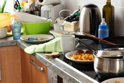 片付け シンク 洗い物 キッチン