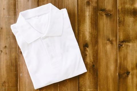 ポロシャツ たたみ方 たたむ