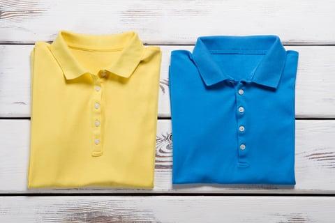 ポロシャツ たたみ方 2枚
