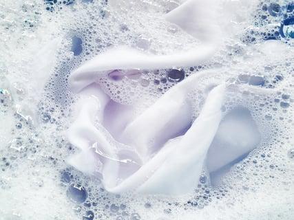 漂白剤 洗濯 桶 タオル