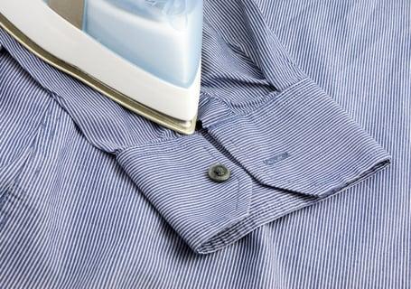 アイロン シャツ 袖