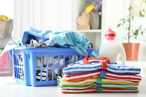 たたみ方 子供 洗剤 カゴ 洗濯物