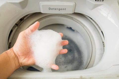洗濯機 泡 洗剤