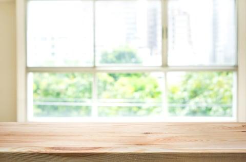 窓 机 カーテン