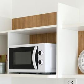 レンジ 家電 収納 キッチン