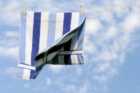 タオル 洗濯物 干す
