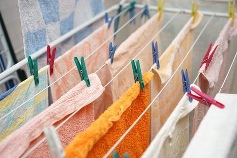 タオル 部屋干し 洗濯バサミ