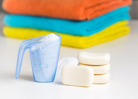 石鹸 洗剤 洗濯 タオル