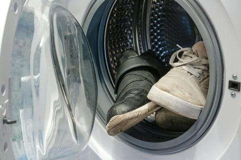 靴 洗濯機 スニーカー