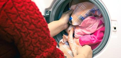 洗濯機 詰め込み