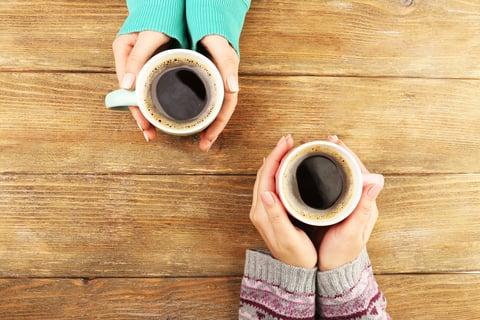 コーヒー くつろぎ